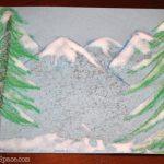 Christmas Wonderful: Faux Snow Paint
