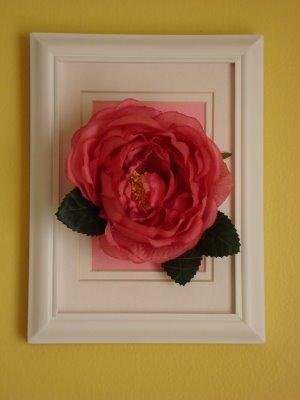 Diy Silk Flower Wall Art Design Dazzle