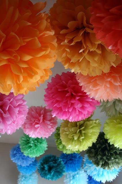 Design Dazzle- Pom Pom Flowers
