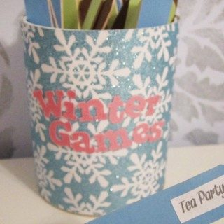 Winter Games: Activity Sticks for the Kiddos