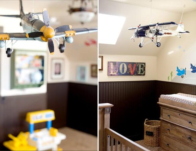 Airplane Nursery Airplanes Nurseries Boys Rooms