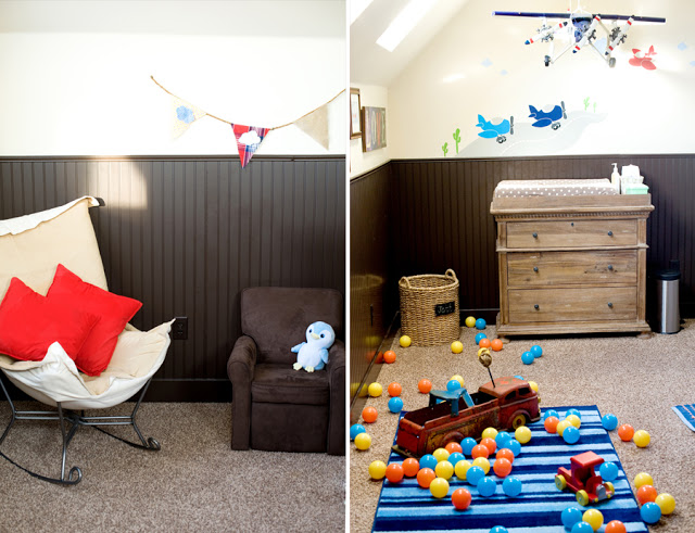 Airplane Nursery, boys rooms, nurseries