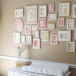 Alphabet Neutral Nursery