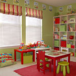 Bright & Cheerful Playroom!