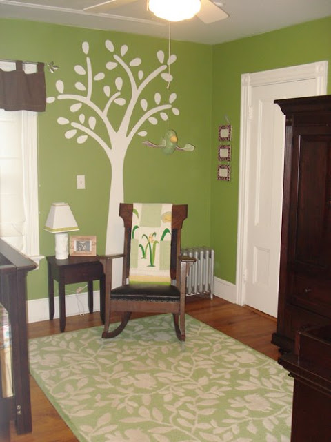 Our Little Baby Boy S Neutral Room: Green And Brown Gender Neutral Nursery