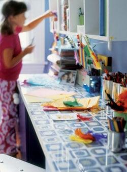 Diy Ingenious Kids Craft Table Design Dazzle
