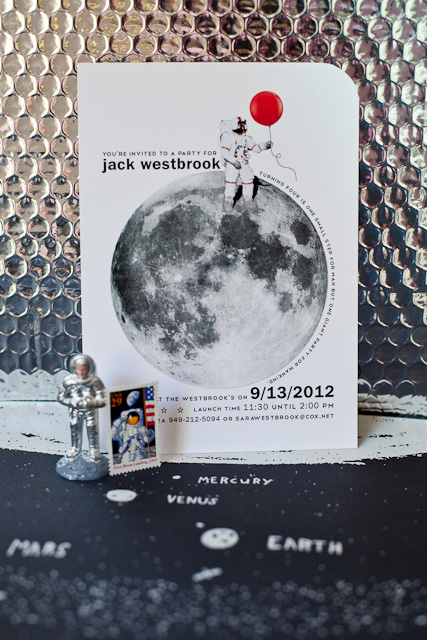 astronaut birthday party ideas