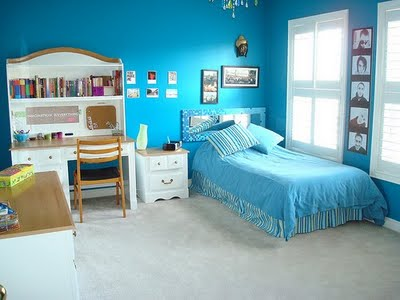 Colored Rooms brightly colored bedrooms - design dazzle