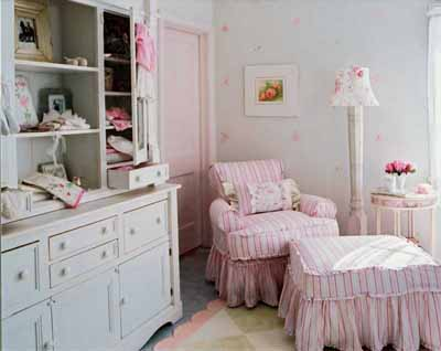 Shabby Chic: Girly Baby Nurseries - Design Dazzle