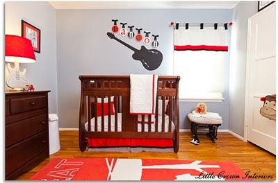 Rockin Out Baby Nursery Design Dazzle