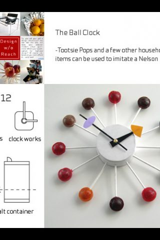 How To Make A Lollipop Clock And More….