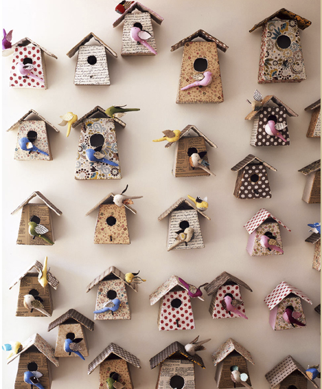 Exquisite bird houses design dazzle - Decorating with bird houses ...