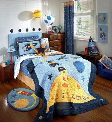 boys space room - design dazzle