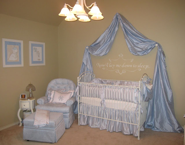 Jamie Kirkpatrick Designed This Lovely Blue Boys Chic Nursery Says I Love The Shabby Look So When Found Out Was Having A Boy Tried To
