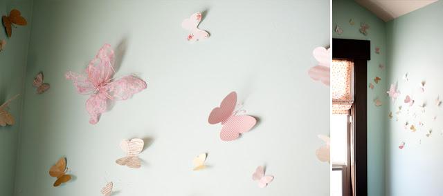 Pink and mint woodland nursery design dazzle for Kinderzimmer mint
