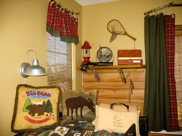 boy s fishing and cing bedroom design dazzle