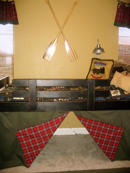 Boy S Fishing And Camping Bedroom Design Dazzle