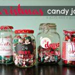 Christmas Wonderful: Christmas Countdown Candy Jars