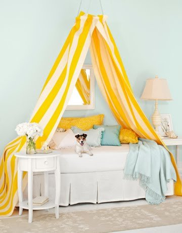 diy bed canopy design dazzle