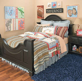Sporty Bedrooms For Teen Boys