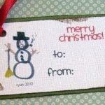 Children Designed Gift Tags