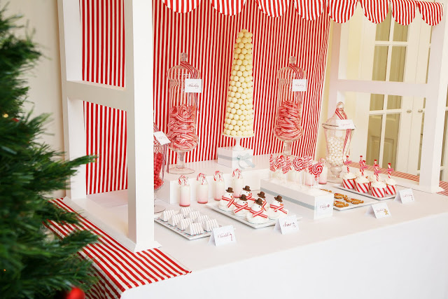 Extra Sweet Candyland dessert table featured on Design Dazzle