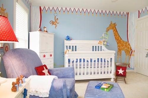 Circus Nursery Design Dazzle