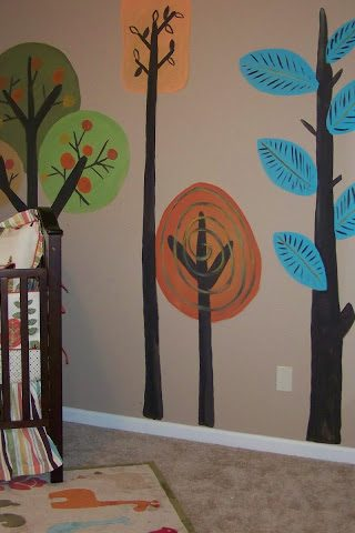 Gender Neutral Woodsy Nursery