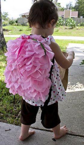 DIY: Flower Petal Backpack!