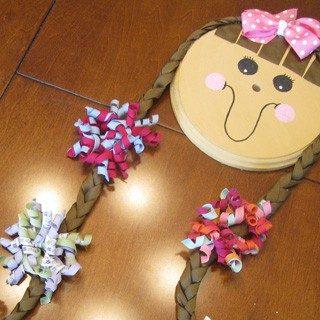 Crafty Girl Hair Bow Holder