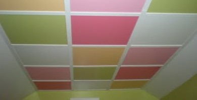 Creative Colorful Ceiling