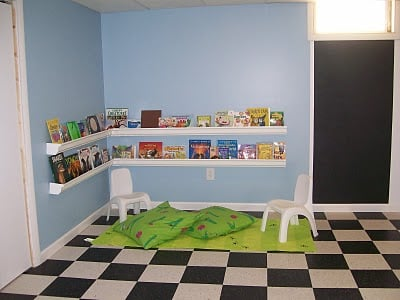 Creative playroom design dazzle any do it yourself projects this was a very budget friendly project we did most of the work ourselves learning a lot along the way solutioingenieria Choice Image