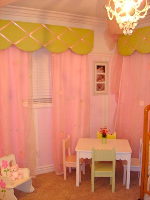 Creative Girls Room Valance