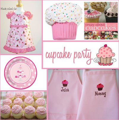 Cupcake Decorating Ideas For Birthday Party : Cupcake Party - Birthday Party Ideas - Design Dazzle