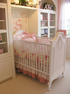 Shabby Chic Girly Baby Nurseries Design Dazzle