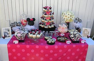 Minnie Mouse Party Ideas - Design Dazzle
