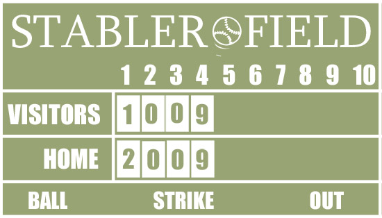Diy Baseball Scoreboard Tutorial Design Dazzle