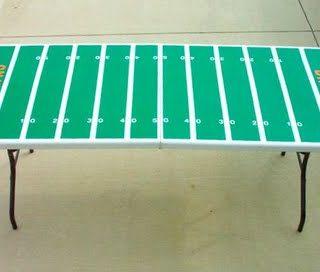 Football Field DIY Idea!