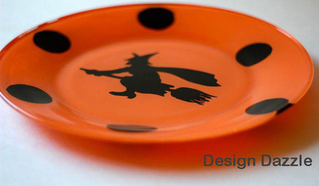 i couldnt find the halloween dinner plates i wanted so i decided to make - Halloween Plates Ceramic