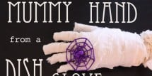 diy-mummy-hand-dishwashing-glove3