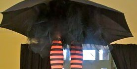 Whimsical Witch's Legs