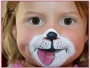 Puppy Party Ideas  Design Dazzle - Cute Face Paint Ideas For Halloween