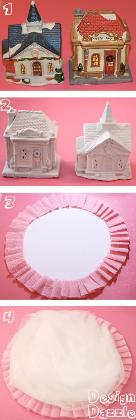 Ordinary Dollar Store decor can be made into fabulous with a little paint and glitter! By Design Dazzle