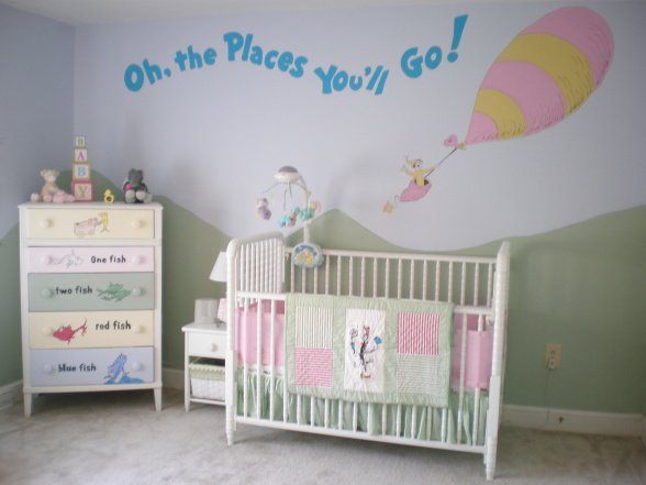 Sweet Dr Seuss Nursery Design Dazzle