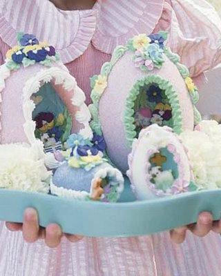 Easter Sugar Eggs