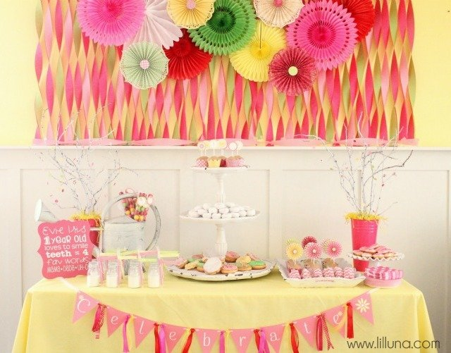 Daisies And Donuts Birthday Party Design Dazzle