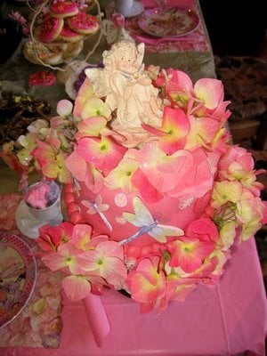 Fairy Cake Ideas Birthday Party : Fairy Tea Party - Design Dazzle