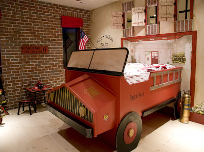Fire Station Boys Bedroom - Design Dazzle