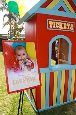 Indoor Birthday Party Ideas On Carnival