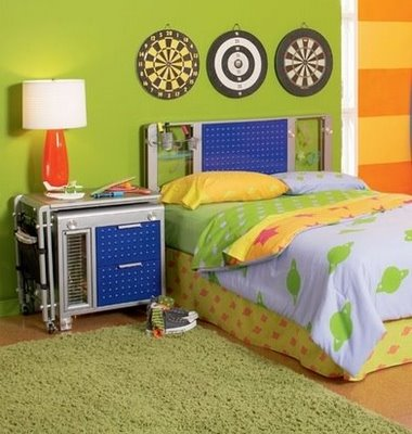 Transformers Inspired Bedroom - Design Dazzle